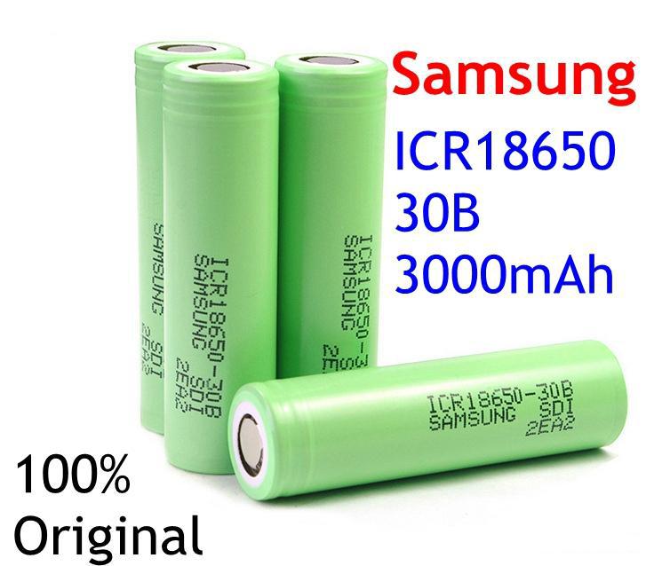 Celdas originales Samsung ICR18650-30B.j